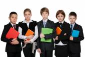 Students with books — Stock Photo