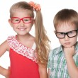 Clever children — Stock Photo #57188465