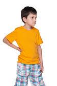 Upset young boy — Stock Photo