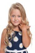 Güzel sarışın kız — Stok fotoğraf