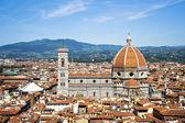 The Cupola of Brunelleschi — Stock Photo