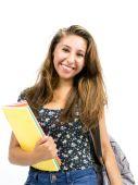Студент женского пола — Стоковое фото