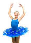 Beautiful ballet dancer — Stock Photo