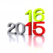 New year 2016 — Stock Photo