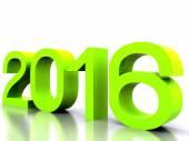 Nuevo año 2016 — Foto de Stock