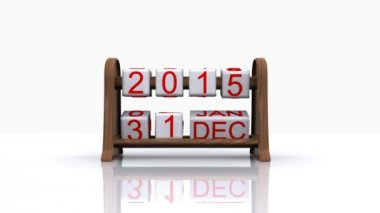 New year 2016 — Stock Video