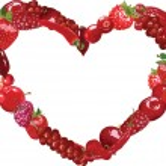 Heart of berries — Stock Vector #62081165
