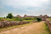 Ruins of Tughlaqabad Fort in Delhi, India — Stock Photo