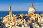 Valletta Skyline, Malta — Stockfoto
