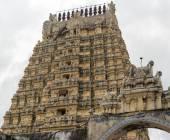 Ekambareswarar  shiva temple, india, kanchipuram — Stock Photo