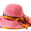 Ladys hat isolated on a white background — Stock Photo #62089671