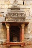 Balcony of Bara Gumbad - ancient architecture — Stock Photo