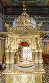 Jain temple interior, Calcutta, India — Stock Photo