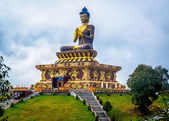 Giant Buddha statue at Ravangla, Sikkim, India. — Stock Photo