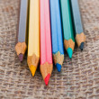 Colourful pencils — Stock Photo #51927651