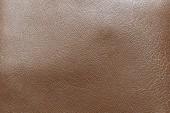 Brown genuine leather — Photo