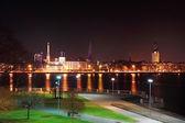 Riga old town in the night — Stok fotoğraf