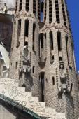Barcellona, spagna - 8 luglio: la sagrada familia - la cattedrale de — Foto Stock