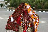 Aşgabat, türkmenistan - 10 mart. genç unidenti portresi — Stok fotoğraf