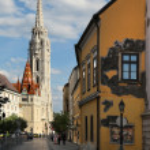 ������, ������: BUDAPEST JUNE 27: View to Matthias Church in the Castle Distri