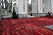 Ashgabat, Turkmenistan - circa December 2014: Preparation of the — Photo