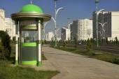 Ashgabat, Turkmenistan - October 15, 2014: Modern architecture o — Stock Photo