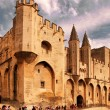 AVIGNON, FRANCE - JULY 1, 2014: Pope palace in Avignon which bec — Stock Photo #71496943
