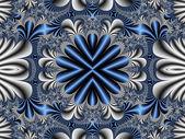 Fabulous symmetrical pattern for background. Artwork for creativ — Stock Photo