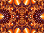 Fabulous symmetrical pattern for background. Collection - Magica — Stock Photo