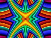 Abstrato colorido. Obra de arte para design criativo, arte um — Fotografia Stock