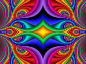 Colorful abstract background. Artwork for creative design, art a — Stock Photo