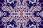 Hermoso fondo con patrón espiral. Colección - Oriental — Foto de Stock