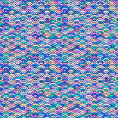 Vícebarevné stupnice pozadí — Stock vektor