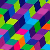 Abstract bright geometric background — Stockvector