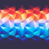 三角形の抽象的な背景 — ストックベクタ