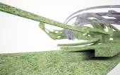 Eco architecture — Stock Photo