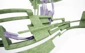 Eco arkitekturen — Stockfoto