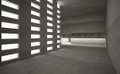Empty dark abstract concrete room interior — Stock Photo