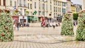 France, the picturesque city of Saint Germain en Laye — Stock Photo