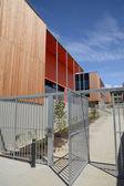Modern building site in Ile de France — Stock Photo