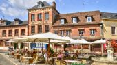 Normandie, the picturesque city of Lyons la Foret — Stockfoto