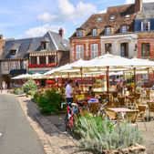 Normandie, the picturesque city of Lyons la Foret — Stock Photo