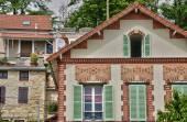 Frankreich, die malerische stadt von conflans sainte honorine — Stockfoto