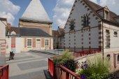 Picturesque city of Dreux in Eure et Loir — Foto Stock