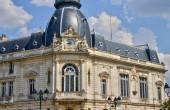 Picturesque city of Dreux in Eure et Loir — Stock Photo