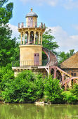 France, the Marie Antoinette estate in the parc of Versailles Pa — ストック写真