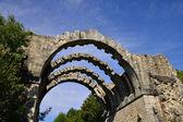 França, o aqueduto pitoresco de maintenon — Foto Stock
