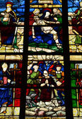 Igreja histórica de nogent le roi em eure et loir — Foto Stock