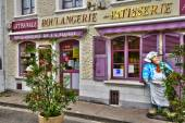 Picturesque city of Le Crotoy in Somme — Stock Photo
