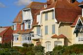 France, the picturesque city of Neufchatel Hardelot  — Stock Photo
